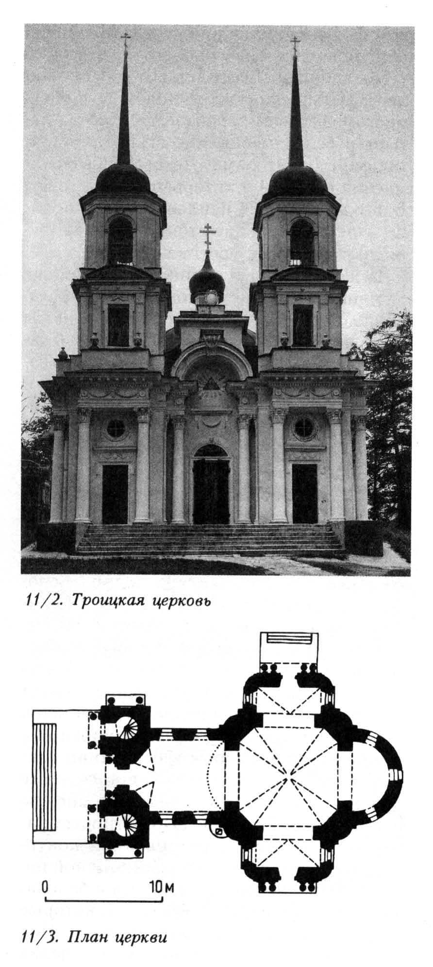 усадьба Троицкое-Кайнарджи