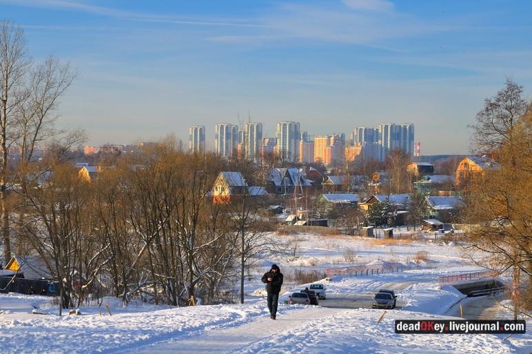 Вид на Кожухово от церкви